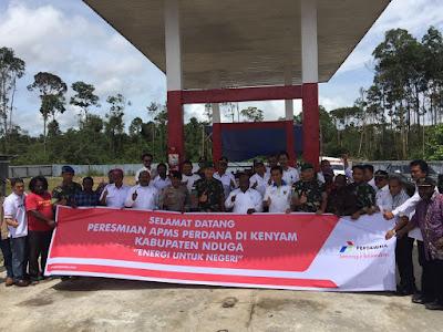 BBM Murah Pertamina Hadir di Kab Nduga Papua