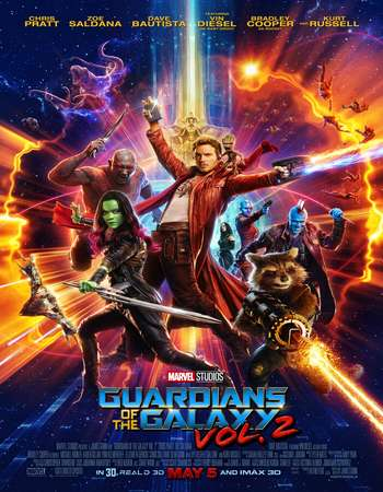 Guardians of the Galaxy Vol. 2 2017 English 720p BluRay ESubs