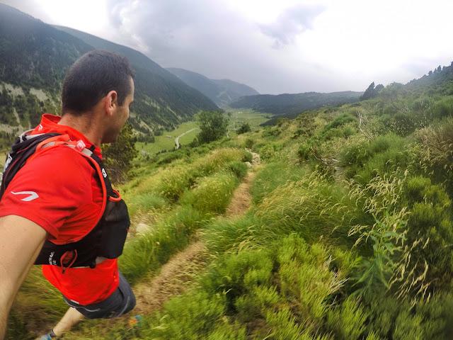 Bajando al Valle de Incles