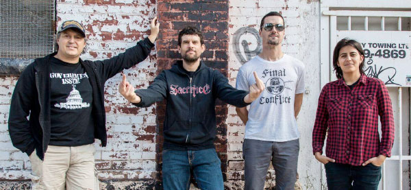 Propagandhi enter the studio to record new album
