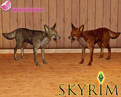 Decorative Ceiling Tiles >> My Sims 3 Blog: Skyrim Wild Animals by Toxic Barbye