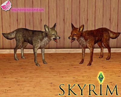My Sims 3 Blog Skyrim Wild Animals By Toxic Barbye