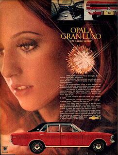 Opala 1970, anúncio gm 1970, chevrolet anos 70, carros antigos, década de 70, carros anos 70, Oswaldo hernandez,