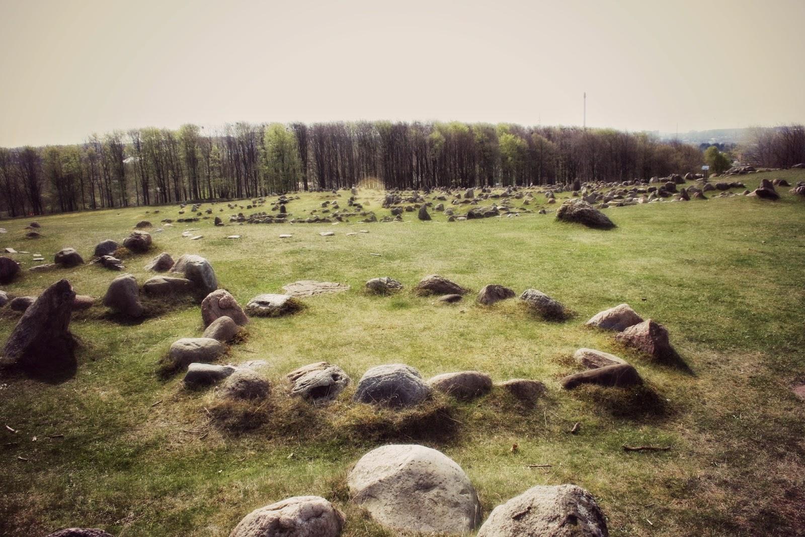 Cementerio vikingo Dinamarca
