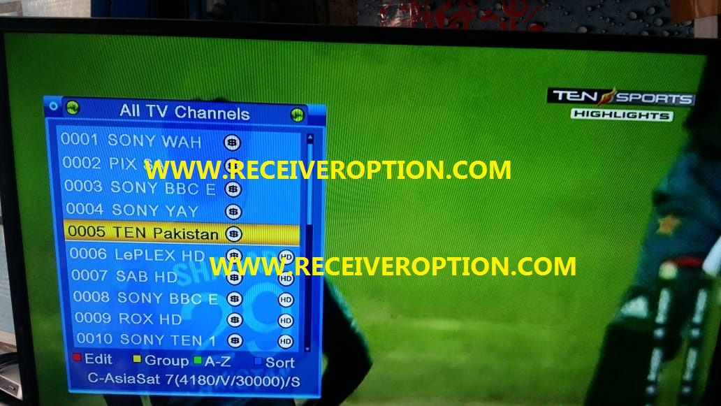 ECHOLINK HQ8000 HD RECEIVER POWERVU KEY NEW SOFTWARE - HOW TO ENTER