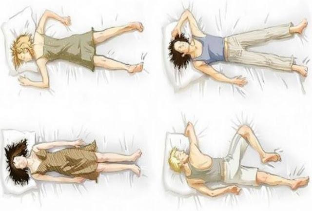 τρόπος που κοιμόμαστε