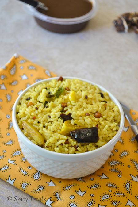 Spicy Treats: Homemade Tamarind Paste/Pulp N Easy Tamarind Rice