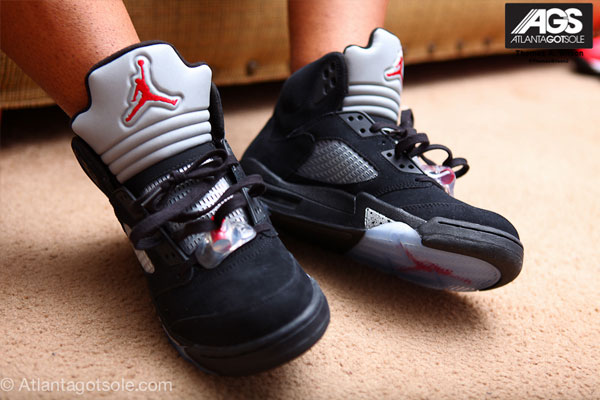 sale retailer fb06a 861ad ... AGS of the upcoming Air Jordan 5 Black Varsity Red-Metallic Silver  Sneaker which will be releasing in August 2011,Will you be picking these up