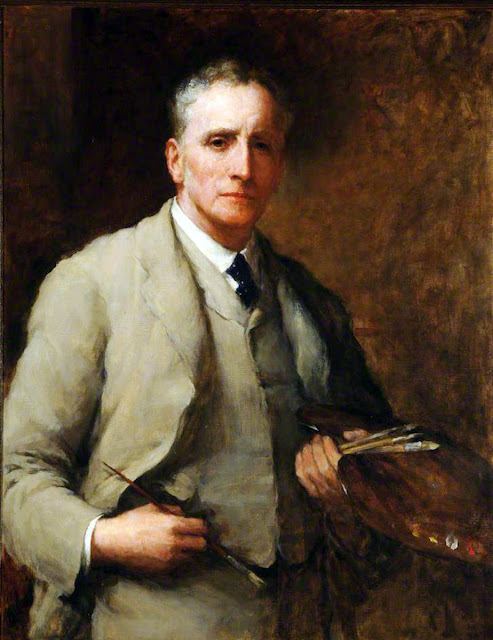 Walter William Ouless, Self Portrait, Portraits of Painters, Walter William, Fine arts, William Ouless, Portraits of painters blog, Paintings of Walter William, Painter Walter William