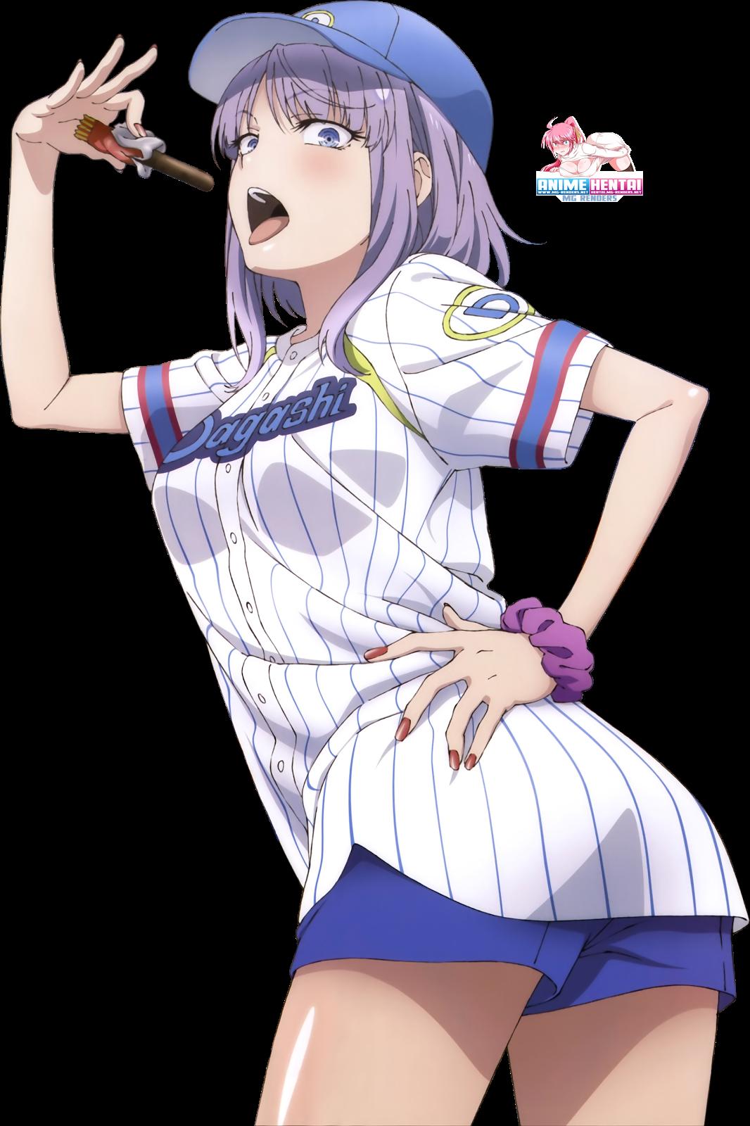 Tags: Anime, Render,  Dagashi Kashi,  Shidare Hotaru,  PNG, Image, Picture
