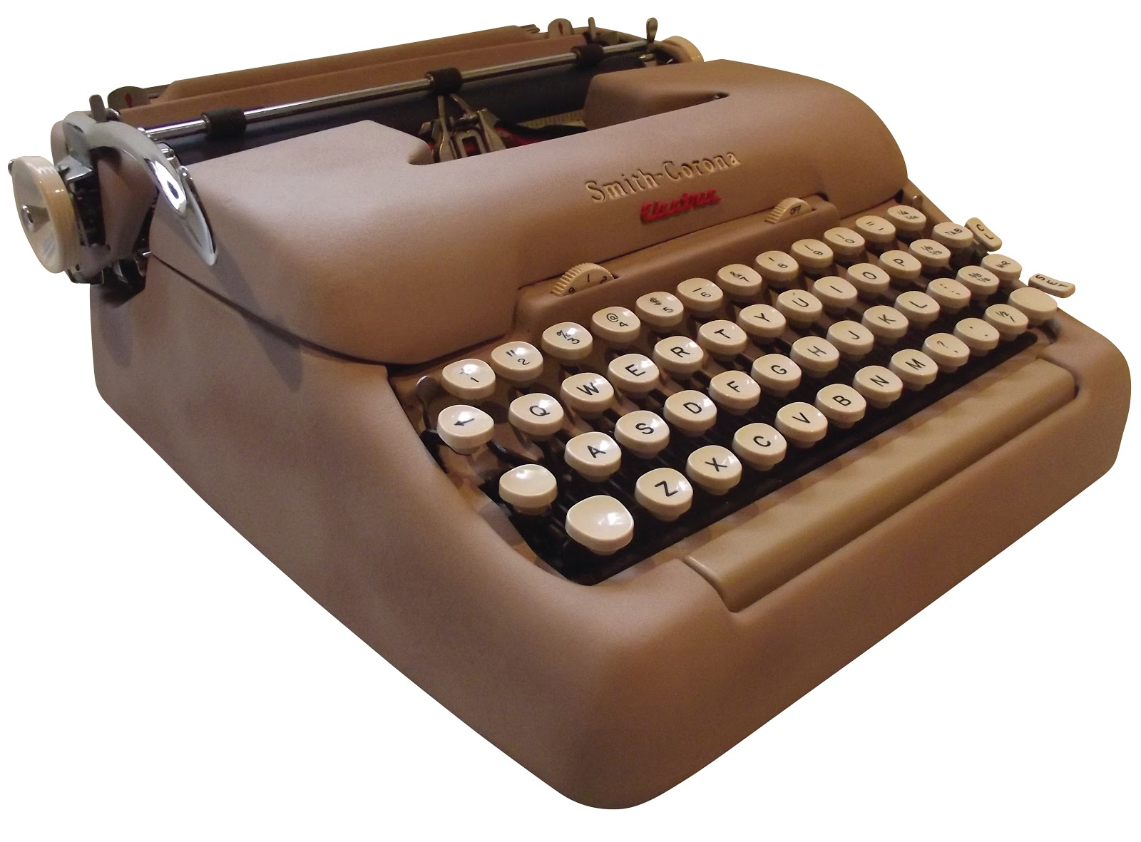 On This Day In Typewriter History 7677 on electric typewriter