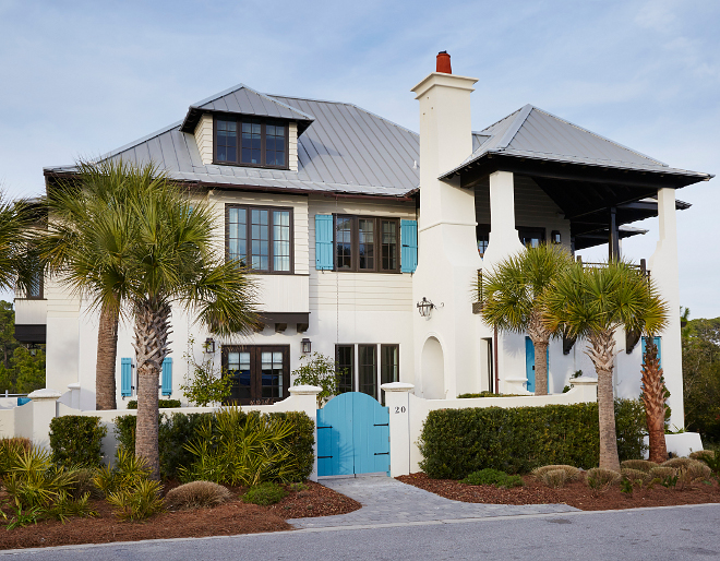 Florida vacation home interiors ideas - Exterior paint costs decor ...