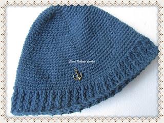crochet headwear, unisex crochet beanie