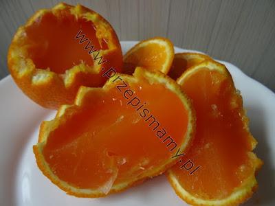 """Galaretka w mandarynkach """"Deser dla dzieci"""""""