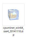 ダウウンロードしたファイルを解凍
