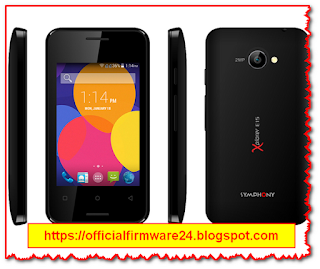 Symphony E15 Official Firmware/ Flash File Free Download