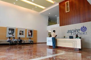 Aspire Systems Walkin Interview for Sofware Developer