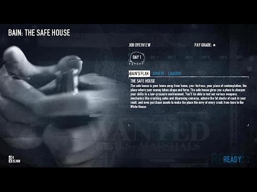 Screen Shot Of PAYDAY 2 (2013) Full PC Game Free Download At worldfree4u.com