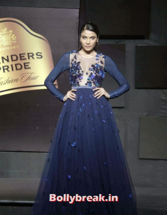 Hemangi Pate, Gavin Miguel Show at Blenders Pride Fashion Tour 2013