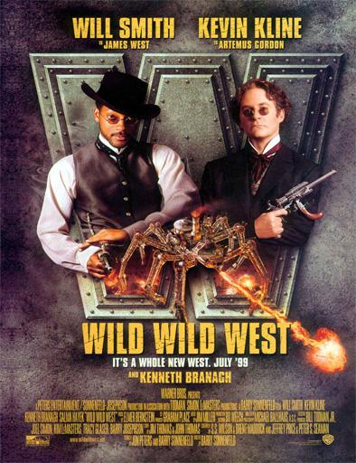 Ver Las aventuras de Jim West (Wild Wild West) (1999) Online