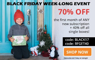 Black Friday Deals Green Kids Crafts #BlackFriday #subscriptionboxes