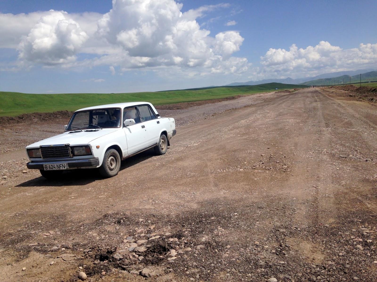 granica Kazachsko Kirgijska