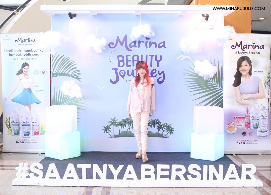 Marina Uv White Body Scrub Beauty Journey 2017 Indonesia 200ml