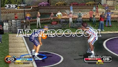 Download NBA Street Showdown ISO/CSO Save Data PSP PPSSPP High Compress