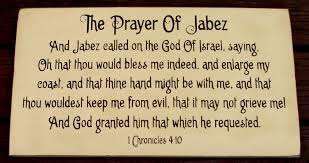 prayer jabez