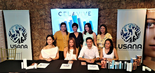 Usana introduces Celavive and their new Philippine Ambassadors