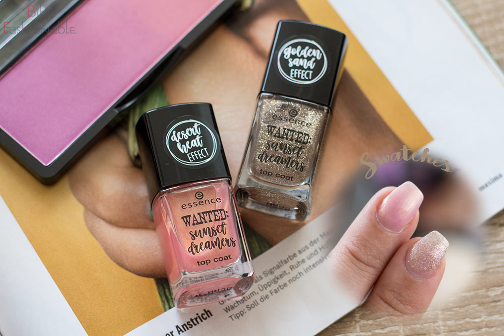 essence WANTED sunset dreamers top coats
