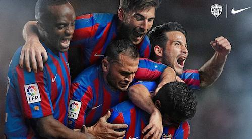 El Levante dejará Nike a final de temporada