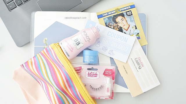 what's inside dear my beauty pouch februari dari yes24