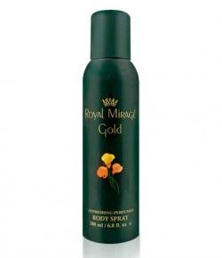 Royal Mirage Gold 200 ml Body Spray / 6.8 fl.oz.