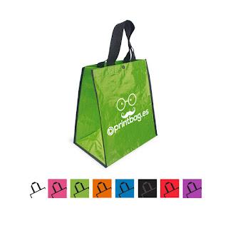 Bolsas baratas personalizadas verdes