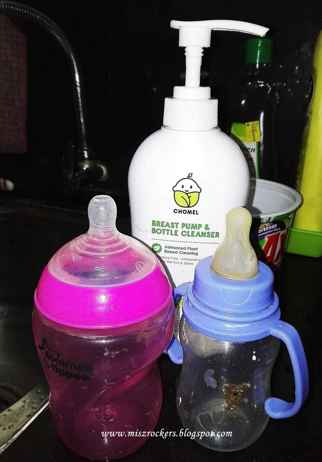 BREAST PUMP & BOTTLE CLEANSER
