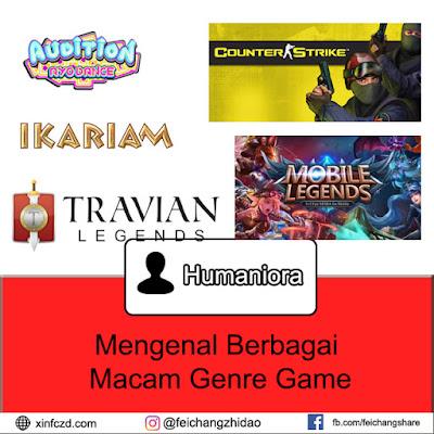 Mengenal Berbagai Macam Genre Game