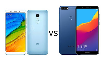 Xiaomi Redmi 5 vs Honor 7C