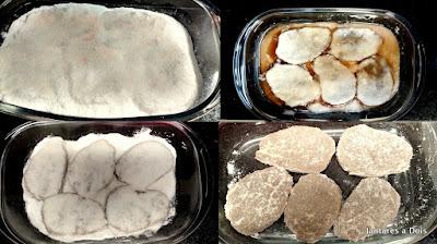 Passos para o preparo da Carne Seca