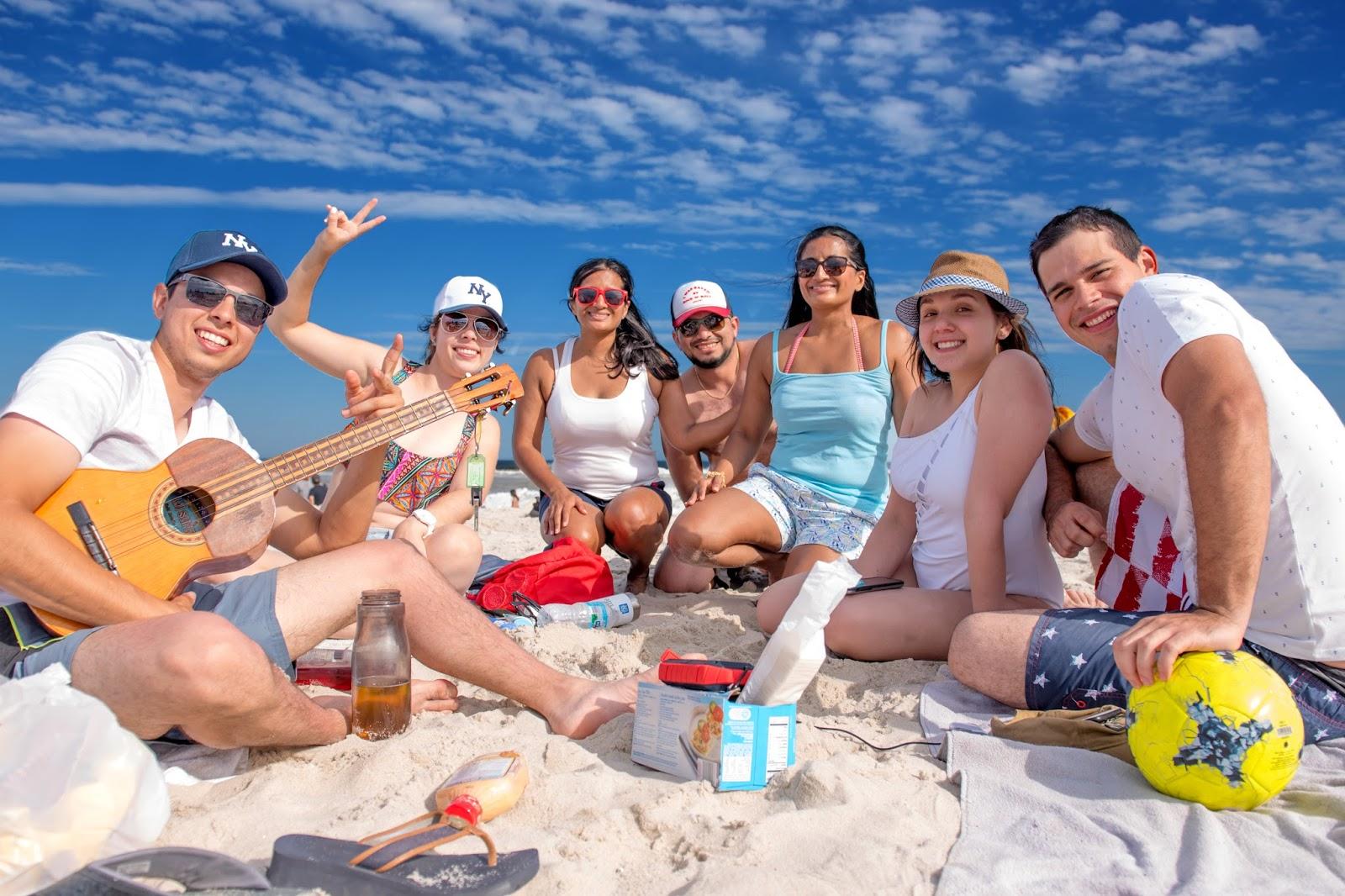 Semi Charmed Beach Day