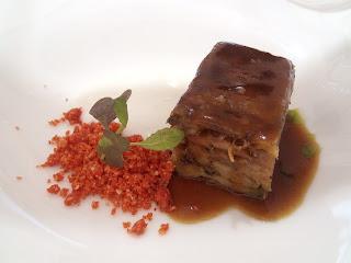 Espaldita de cabrito Restaurant Esmarris Dolce Sitges