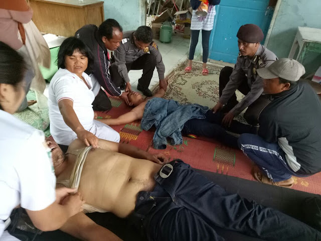 Korban selamat KM Sinar Bangun yang tenggelam di perairan Tigaras, Danau Toba, Simalungun.