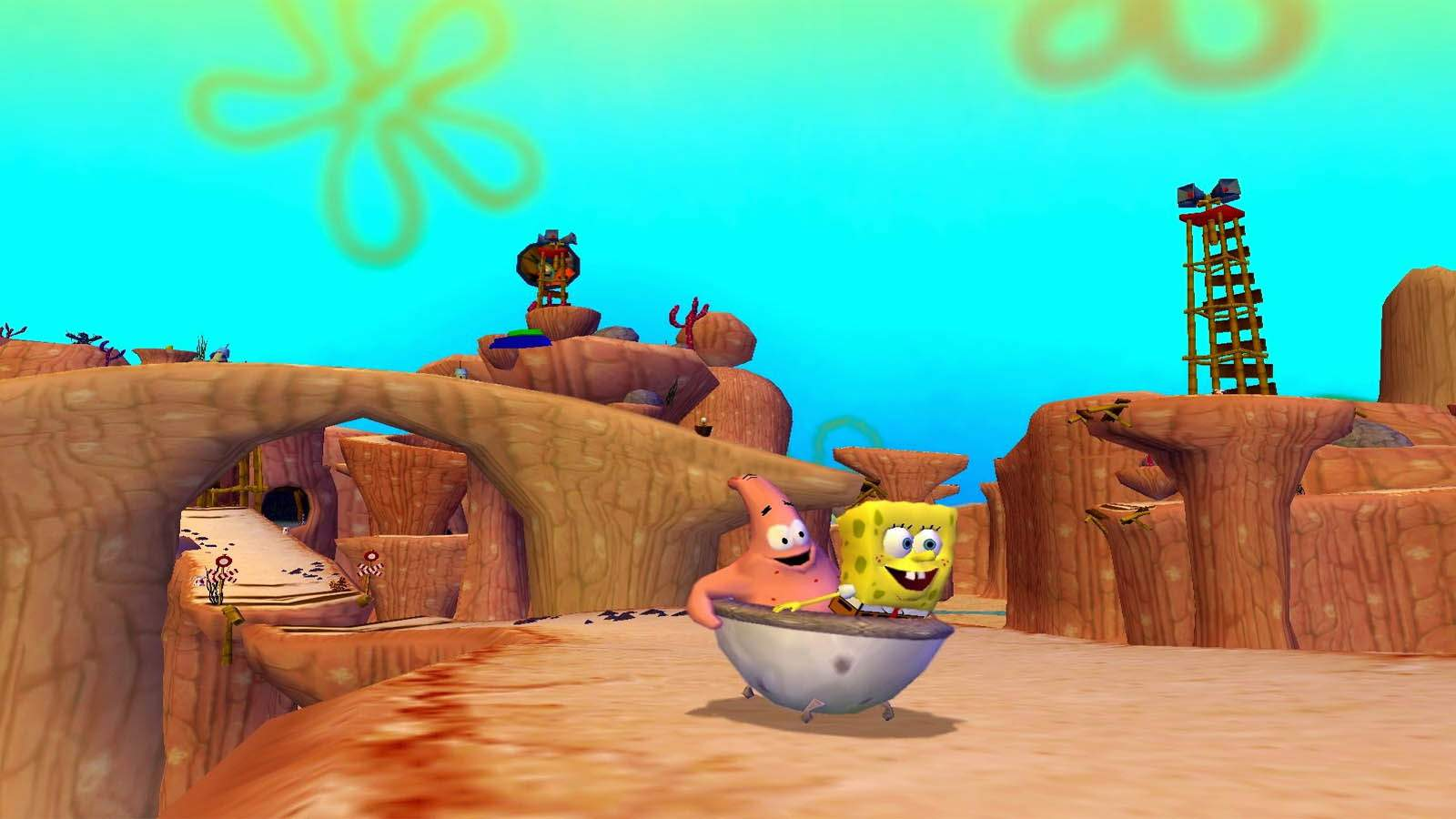 تحميل لعبة SpongeBob SquarePants مضغوطة برابط واحد مباشر كاملة مجانا