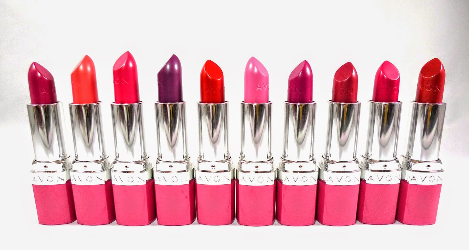 Avon Ultra Color Absolute Lipsticks Review Complete Swatches The