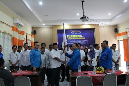 Pelantikan Pengurus Kecamatan KNPI Ngaliyan Kota semarang
