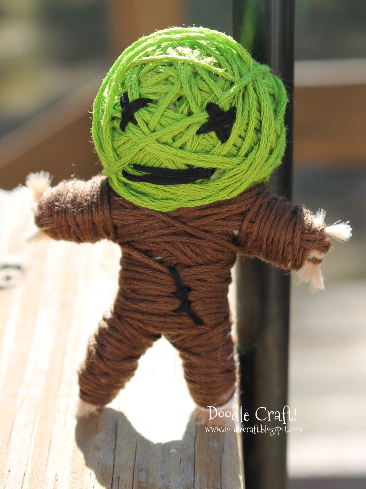 Doodlecraft Make Your Own String Voodoo Dolls
