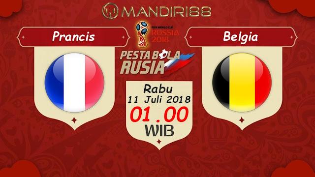 Prediksi Prancis Vs Belgia, Rabu 11 Juli 2018 Pukul 01.00 WIB @ Trans TV