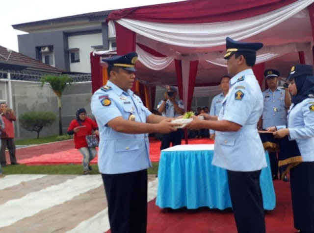 Sertijab Ka Rutan Kelas II A Batam Beserta Peresmian Gedung Pelayanan Pengunjung