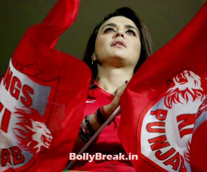 Preity Zinta in a pensive mood, Preity Zinta Different Moods - IPL 7