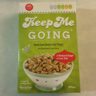 Keep Me Going, Cereal, Breakfast, Low Fat, High Fibre, Healthy